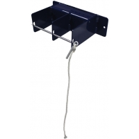 Spalding Volleyball Upright Wall Rack, Holds 3