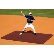 "Proper Pitch 818004 Classic Game Mound, 8""H x 11'6""L x 8'3""W, Clay"
