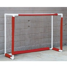 PVC Floor Hockey Goal & Net, 4'x6'