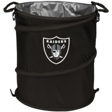 Oakland Raiders NFL Collapsible 3-in-1 Hamper/Cooler/Trashcan