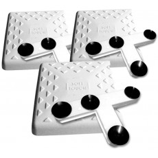 """Soft Touch IN1400 14"""" Indoor Bases w/ Mounting Tees, set of 3"""