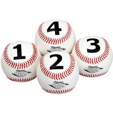 Diamond DTS-BB 1234 Numbered Training Baseball Set