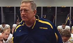 West Virginia Head Coach Bill Stewart - Leave No Doubt Speech