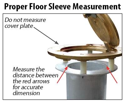 Volleyball Net System Proper Floor Sleeve Measurement