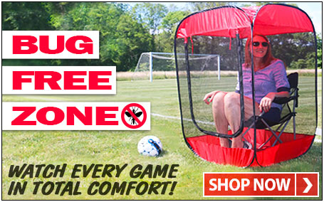 Insect, Bug & Mosquito Pop-Up Screen Chair Tent - Bug Free Zone!