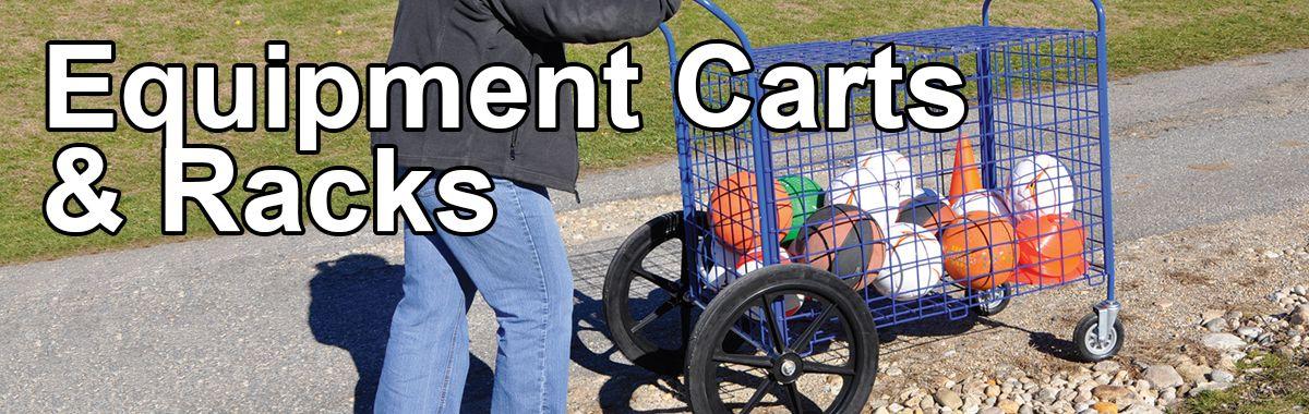 Phys Ed Ball and Equipment Carts & Racks