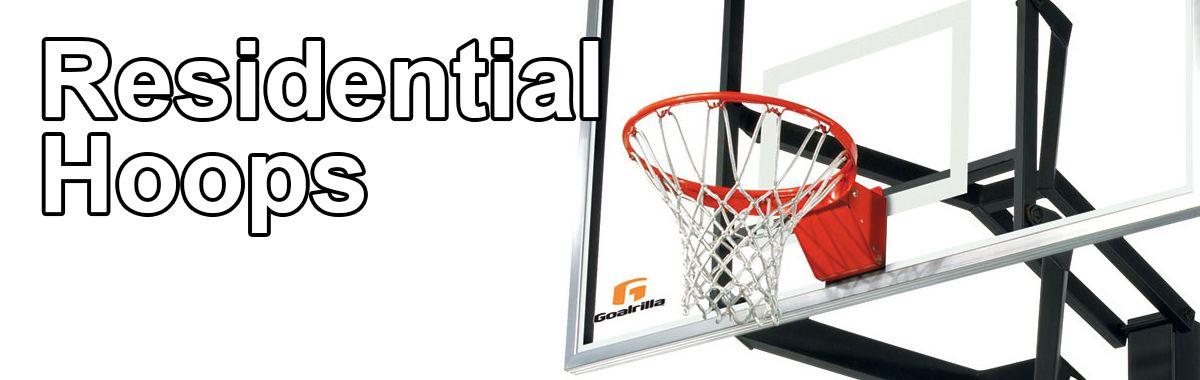 Residential Basketball Hoops