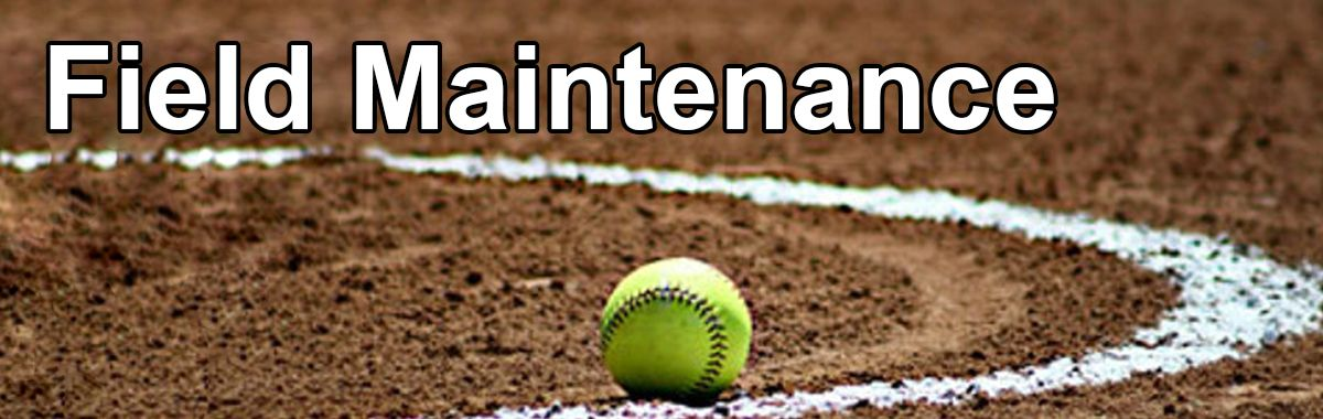 Softball Field Maintenance Equipment