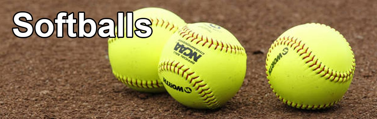 Slowpitch & Fastpitch Softballs