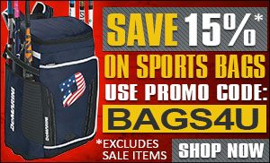 Save 15% on Sports Bags with promo code: BAGS4U