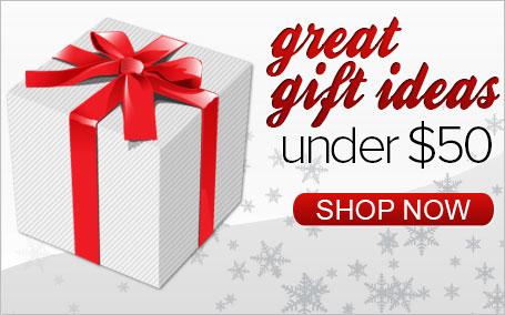 Great Gift Ideas Under $50