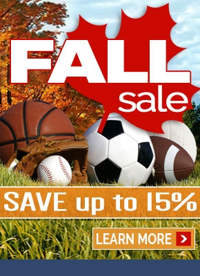 2017 Fall Sale - Save up to 15%