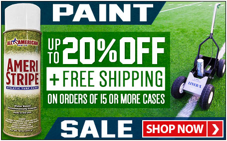 Save up to 20% on paint + get free shipping on orders of 15 or more cases.