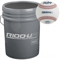 Rawlings HS Ultimate Practice 24 Baseball/Bucket Combo, R100UP1BUCK24