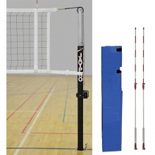 "Jaypro Volleyball Net System for 3"" Floor Sleeves, PVB-4500"