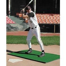 Softball Batter's Box Stance Turf Mat, 3' x 7'