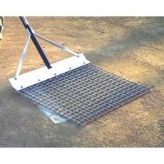 White Line 2' x 1.5' Steel Baseball Mound Mop