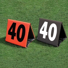 Fisher set of 11 Foldable Football Sideline Markers