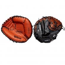 "Wilson 32"" A500 Youth Baseball Catcher's Mitt, WTA05RB19CM"