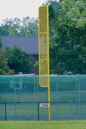 Jaypro 20 H Pro Style Baseball Foul Poles Bbfp 20 Pair