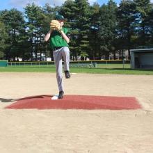 "Promounds  8'3""Lx5'Wx6""H Major League Game Baseball Mound, Clay"