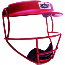 Schutt V1/V2 Softball Fielders Face Guard w/Visor