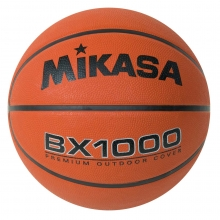 Mikasa BX1000 Varsity Series Rubber Basketball, MEN'S, 29.5""