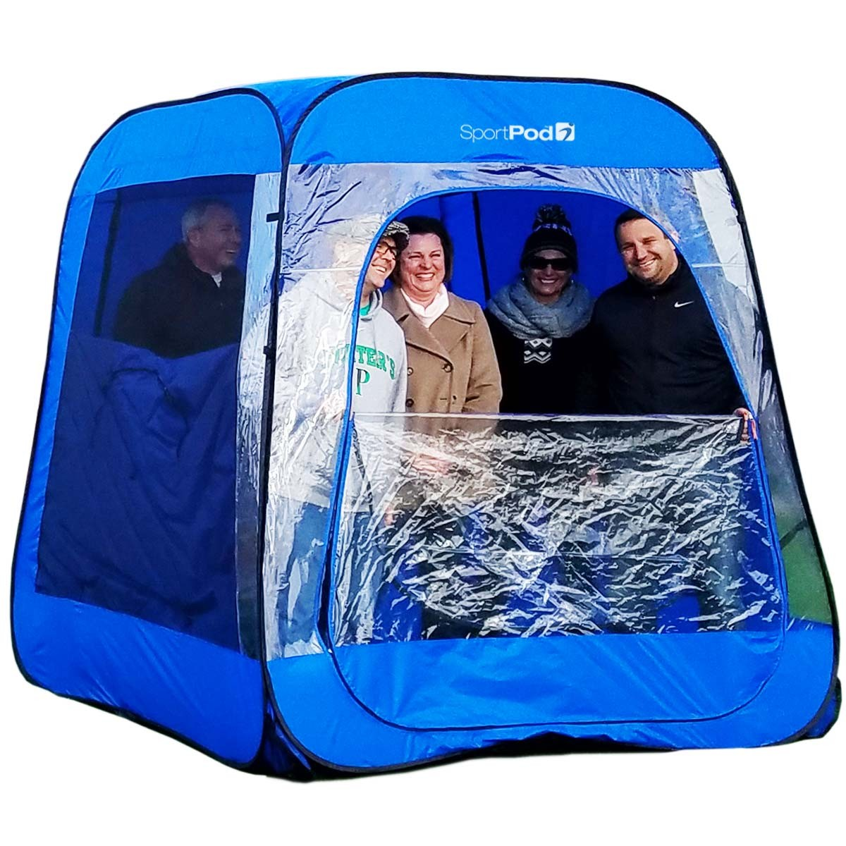 Teampod™ undercover™ all weather sportpod™ pop up chair tent.