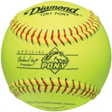 "Diamond 12"", 12RY PONY Leather Pony Softball"