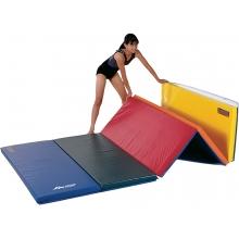 """Gymnastics Mat, 2-1/4"""" Foam, 4' x 6', 2 Velcro Ends"""