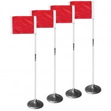 Kwik Goal Premier Soccer Corner Flags, set of 4, 6B1404