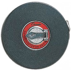 Champion 200' / 60m Closed Reel Measuring Tape, F200