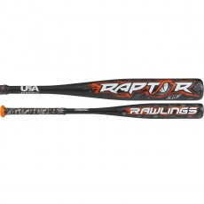 2018 Rawlings Raptor -10 (2-1/4) Youth USA Baseball Bat, US8R10
