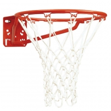 Bison Single Rim Super Basketball Goal, BA27A