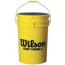 Wilson Ball Bucket, Softball, WTA394700