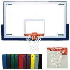 Bison Backboard Rim Package w/ Standard Board