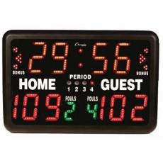 "Champion Multi-Sport Electronic Tabletop Scoreboard, 24""W x 16""H"