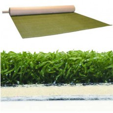 Sporturf 711, Artificial Sports Turf, 24 oz, Pine, 3mm Backing, 12' Width