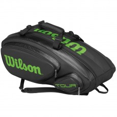 Wilson Tour V 9 Pack Tennis Bag, 30x12x13