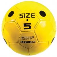 Kwik Goal Soccer Medicine Ball, YELLOW, Size 5