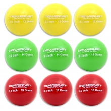"POWERNET Weighted Training Softball Set, 3.2"" (9)"