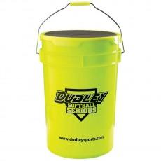 Dudley Softball Bucket w/ Padded Lid