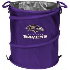 Baltimore Ravens NFL Collapsible 3-in-1 Hamper/Cooler/Trashcan