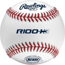 Rawlings R100-H3 NFHS Raised Seam Baseballs, dz