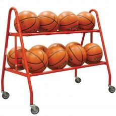 Jaypro 12 Ball Heavy Duty Basketball Ball Cart, BBC-12