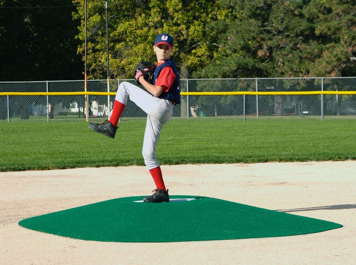 True Pitch 600 G Portable Baseball Pitcher S Game Mound