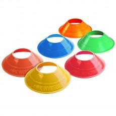 Kwik Goal 6A14 Mini Disc Cones, 25/Pk