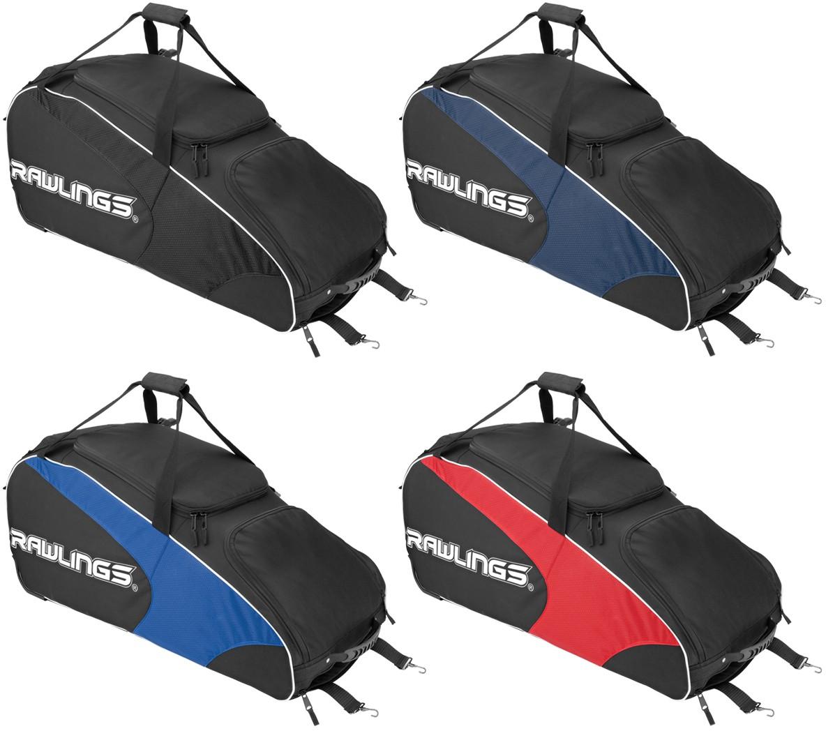 130fc7799a Rawlings WHWB2 Workhorse Equipment Bag w  Wheels