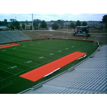 Aer-Flo Bench Zone Sideline Turf Protector, 15' x 75'