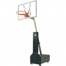 Bison Club Court Portable Basketball Hoop, w/ Acrylic Backboard